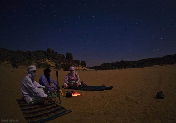ilustrasi padang pasir dingin © twanight.org