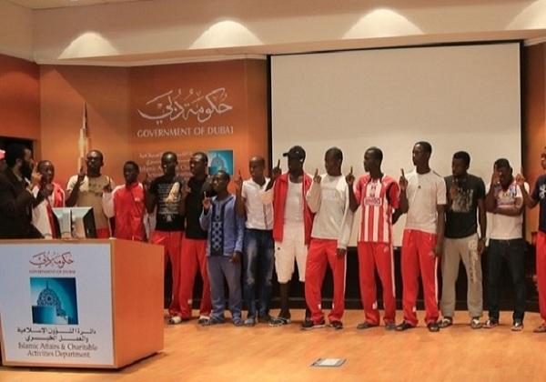 23 pesepakbola Kamerun masuk Islam © IACAD