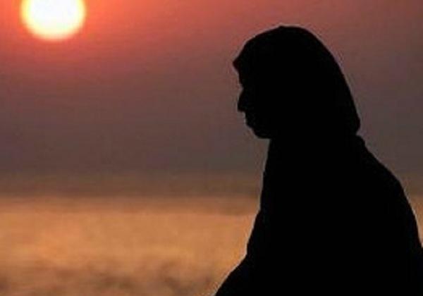 ilustrasi, siluet muslimah © pinterest.com