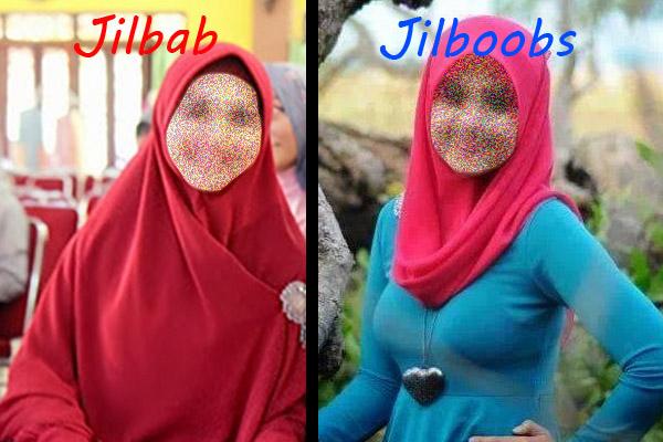 Jilbab vs Jilboobs